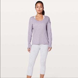 Lululemon Athletica Meant to Move Long Sleeve